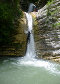 CANYONING VERCORS CANYON DES MOULES MARINIERES