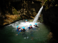 CANYONING VERCORS CANYON DES ECOUGES JOURNEE