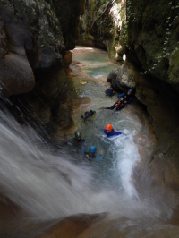CANYONING CHARTREUSE CANYON DU GRENANT